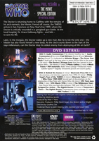 [Doctor Who - The Movie - Special Edition DVD back]