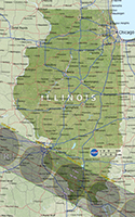 [Illinois Eclipse Map]